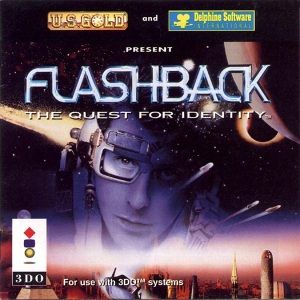 Flashback 3DO Jaquette 001