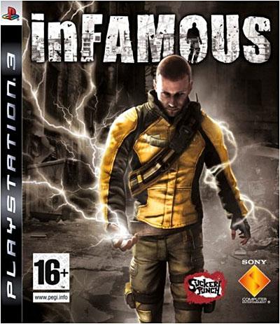 inFamous PS3 Jaquette