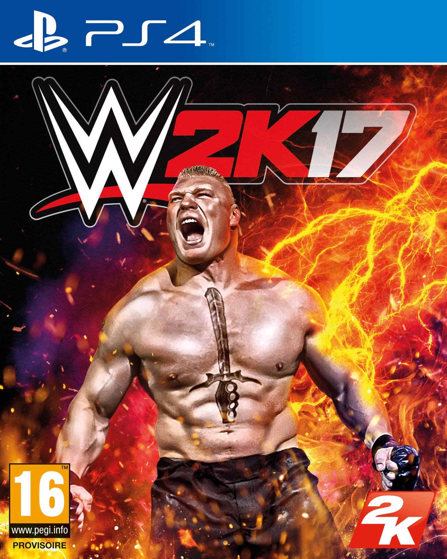 WWE2K17 PS4 Jaquette 001