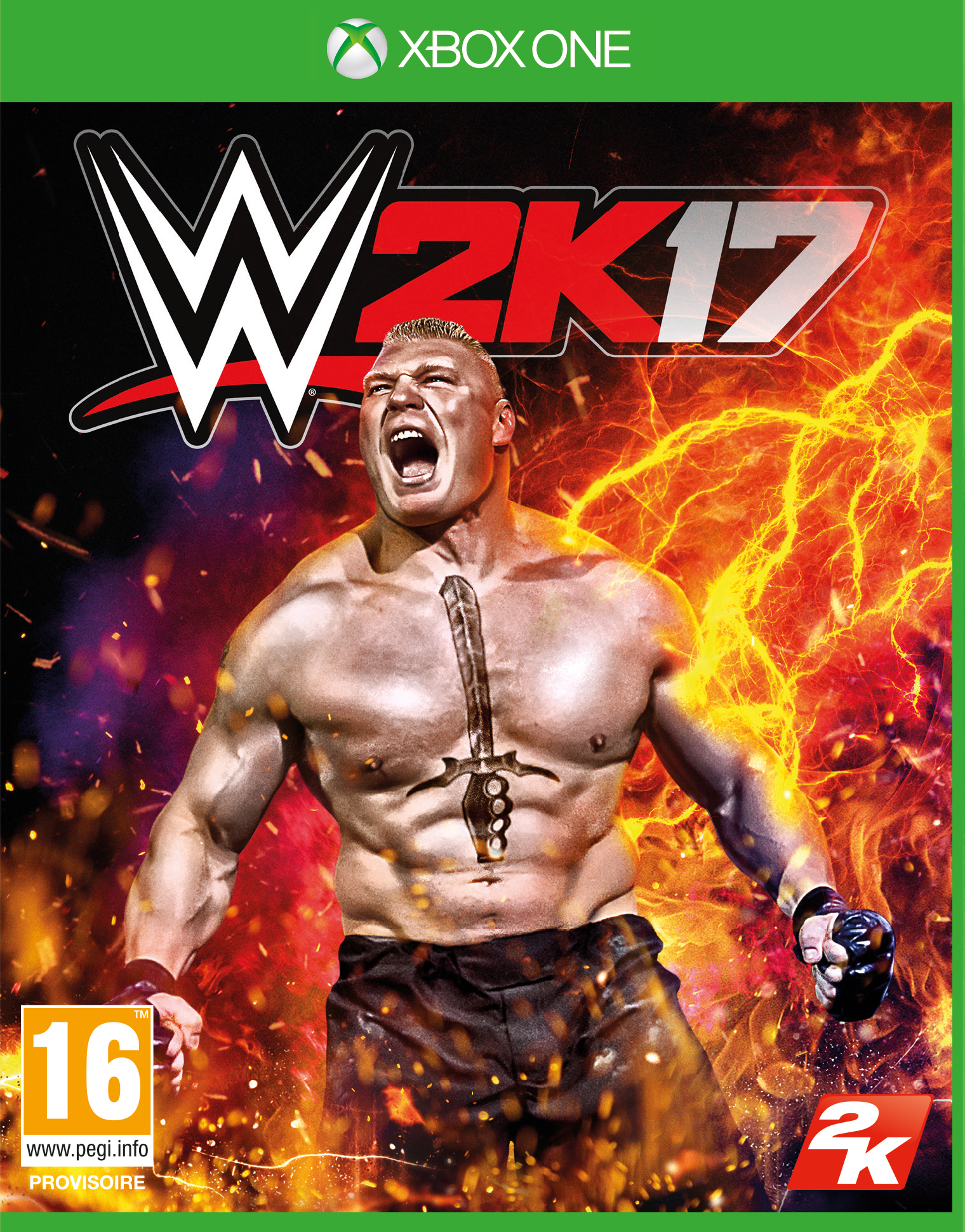WWE2K17 XB1 Jaquette 001
