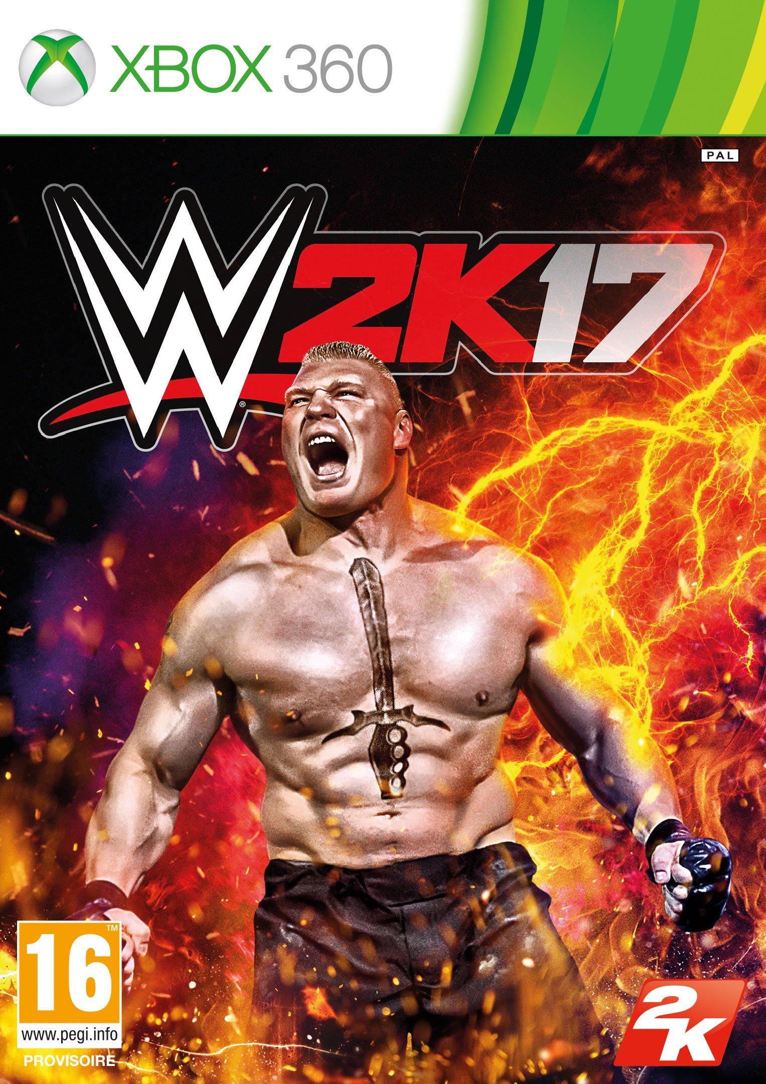 WWE2K17 X360 Jaquette 001