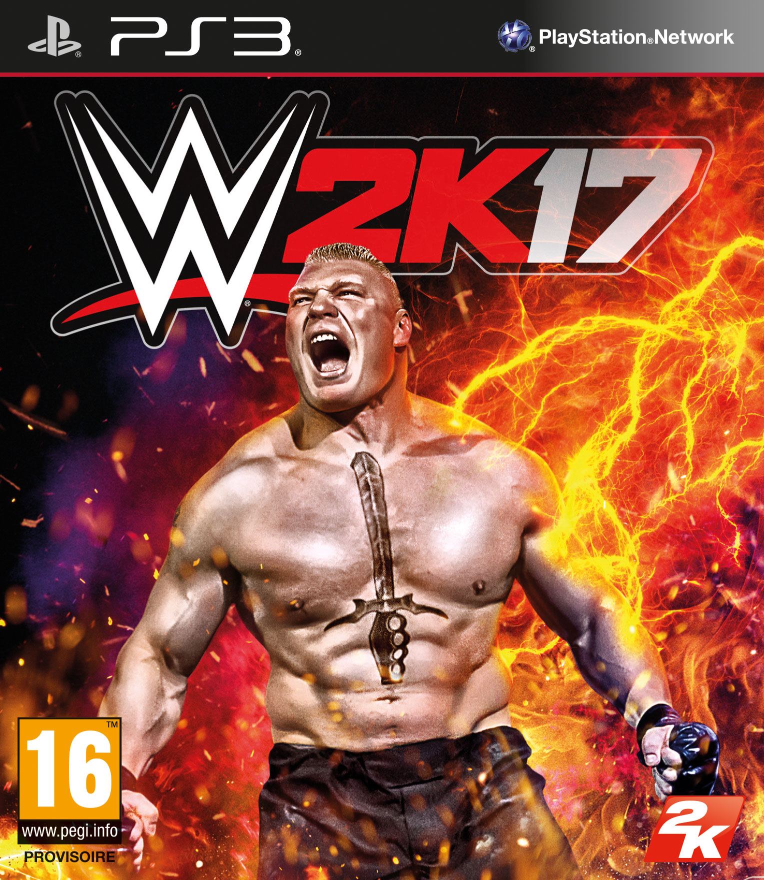 WWE2K17 PS3 Jaquette 001