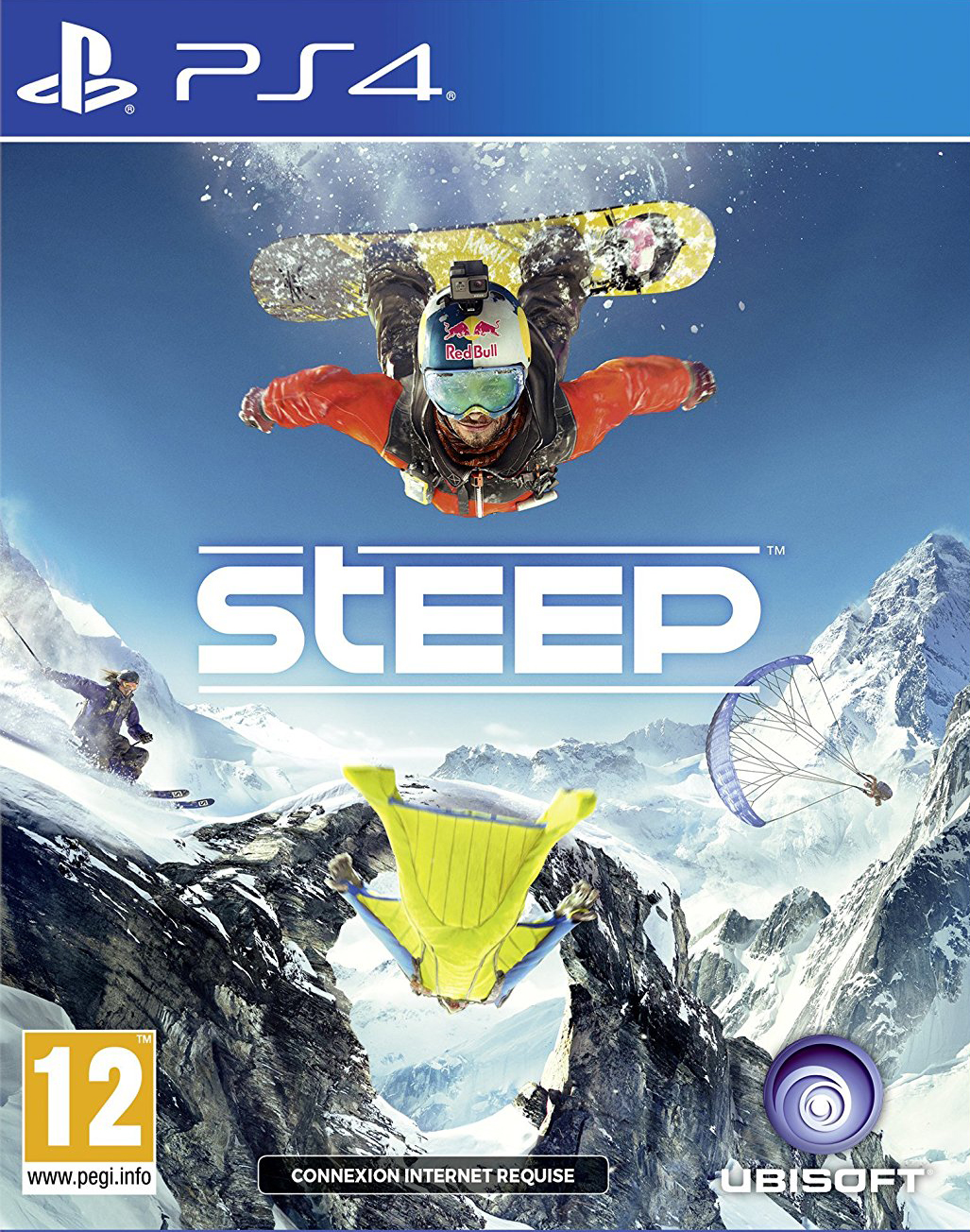 Steep PS4 Jaquette 002