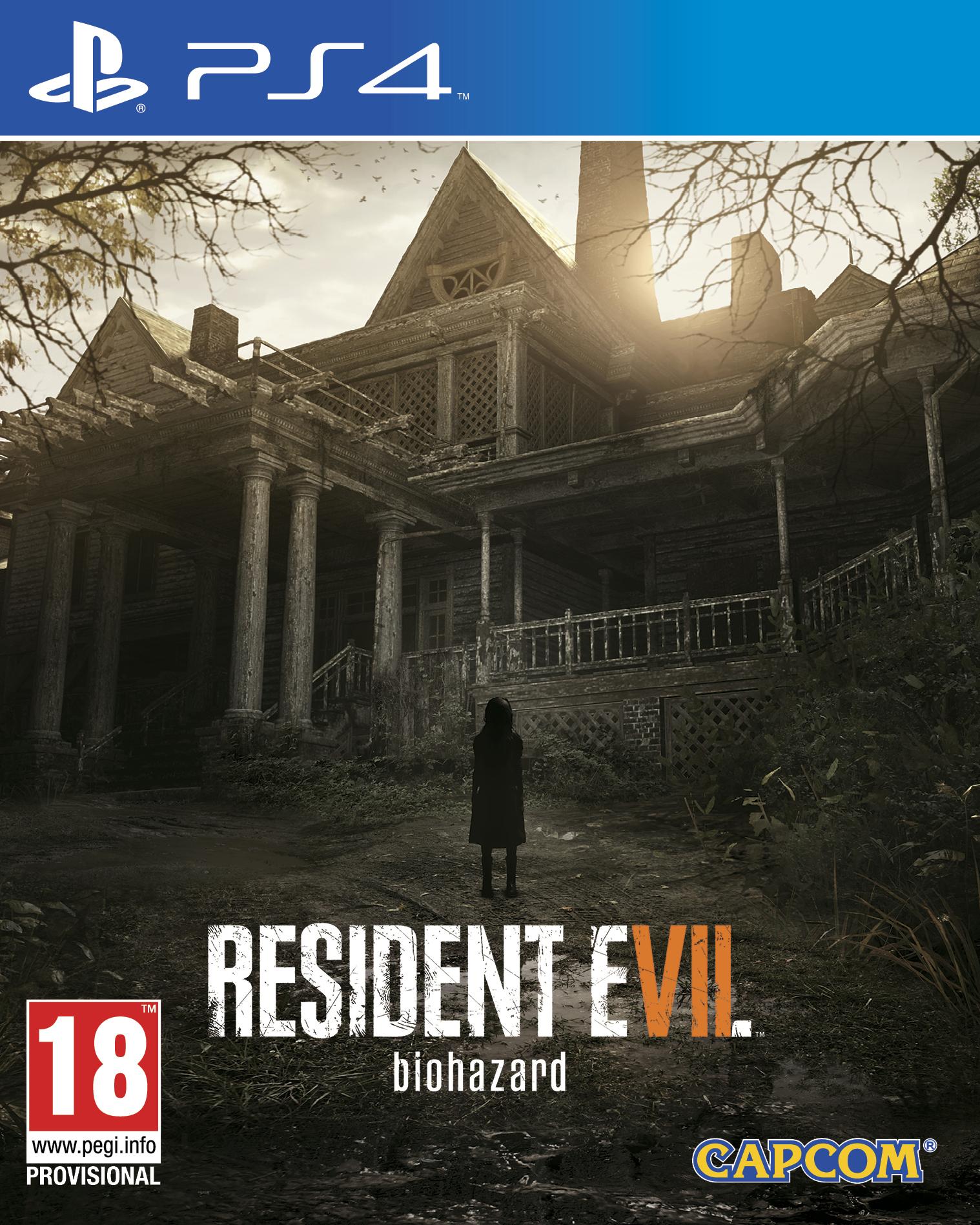 ResidentEvil7biohazard PS4 Jaquette 001