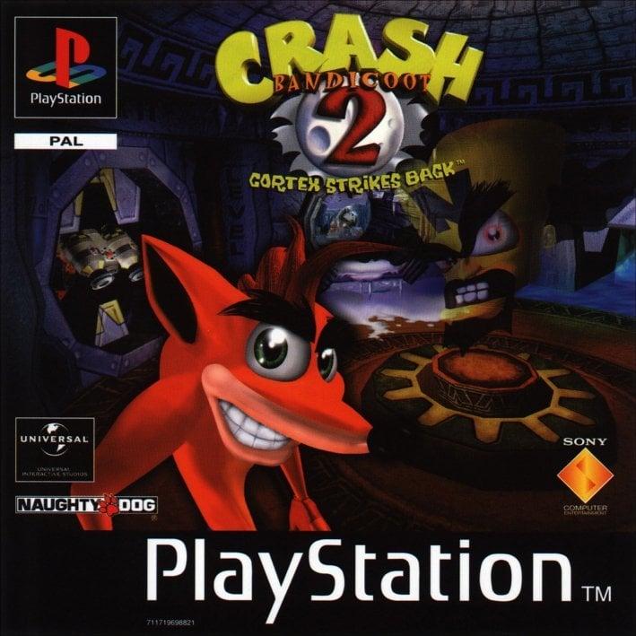 CrashBandicoot2 PS Jaquette 001