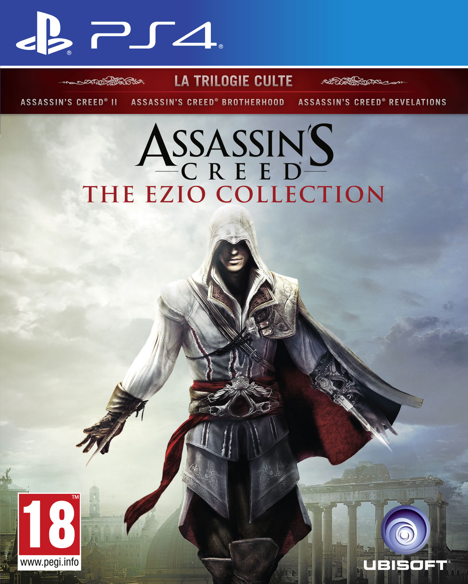 Assassin-sCreed-EzioCollection PS4 Jaquette 001