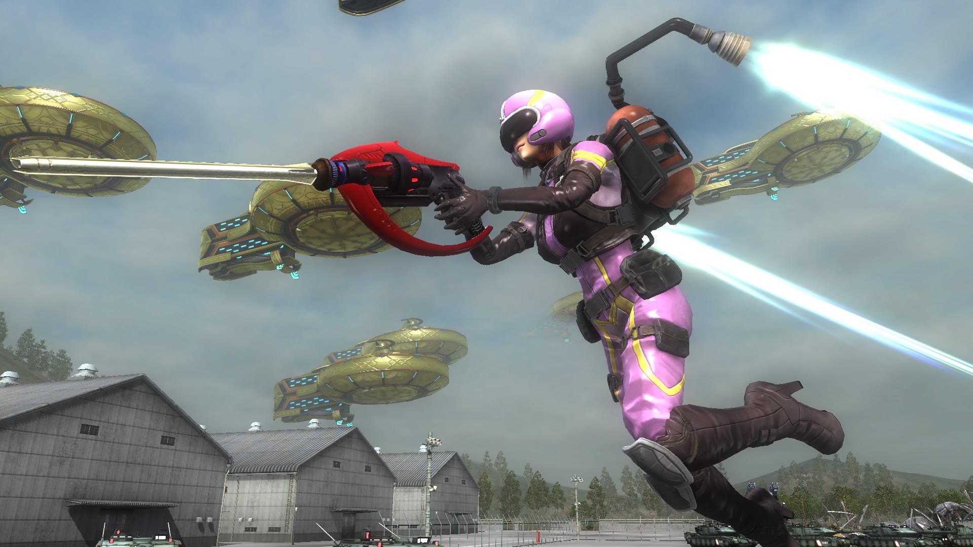 EarthDefenseForce5 PS4 Editeur 006