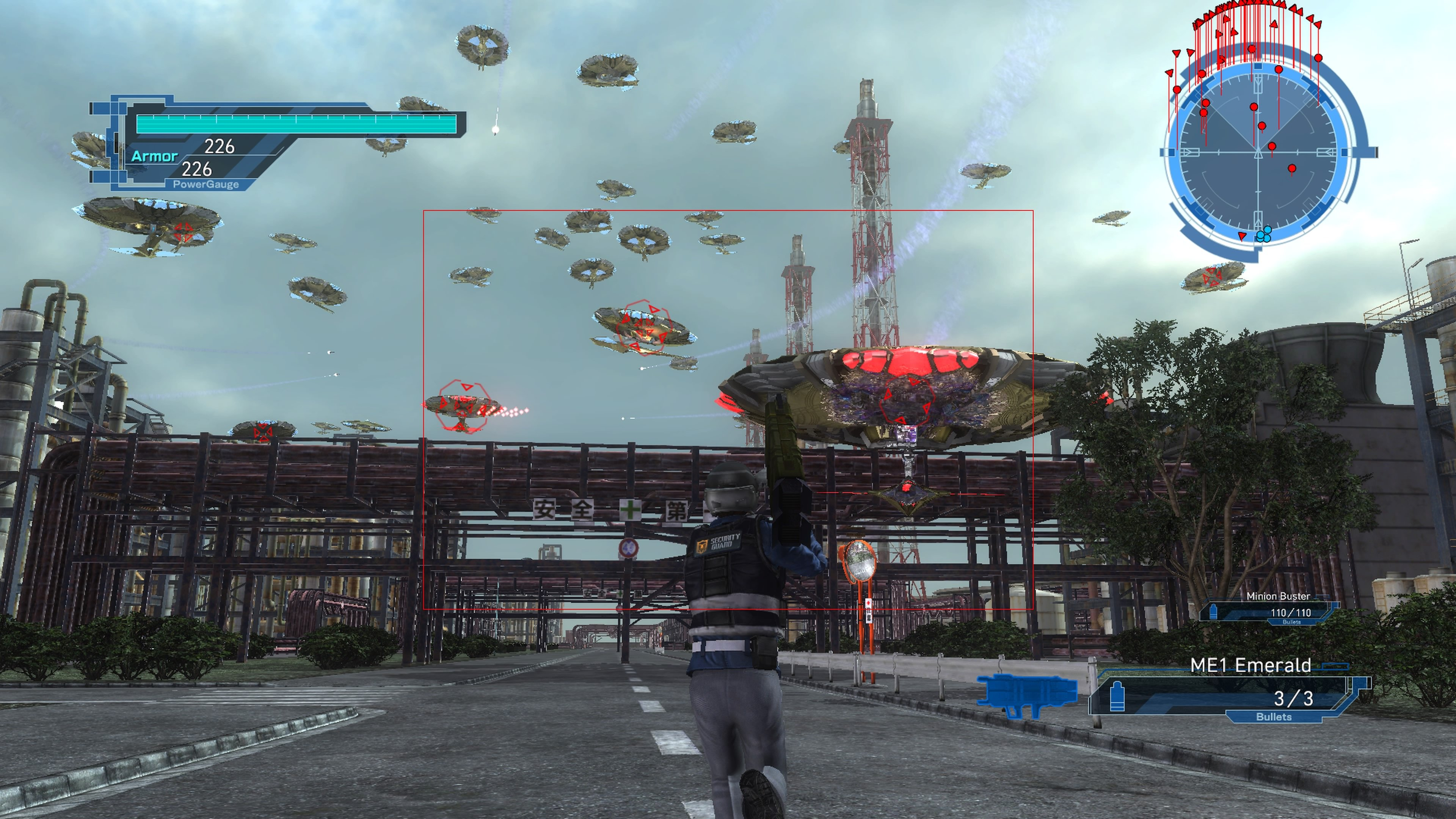 EarthDefenseForce5 PS4 Test 001