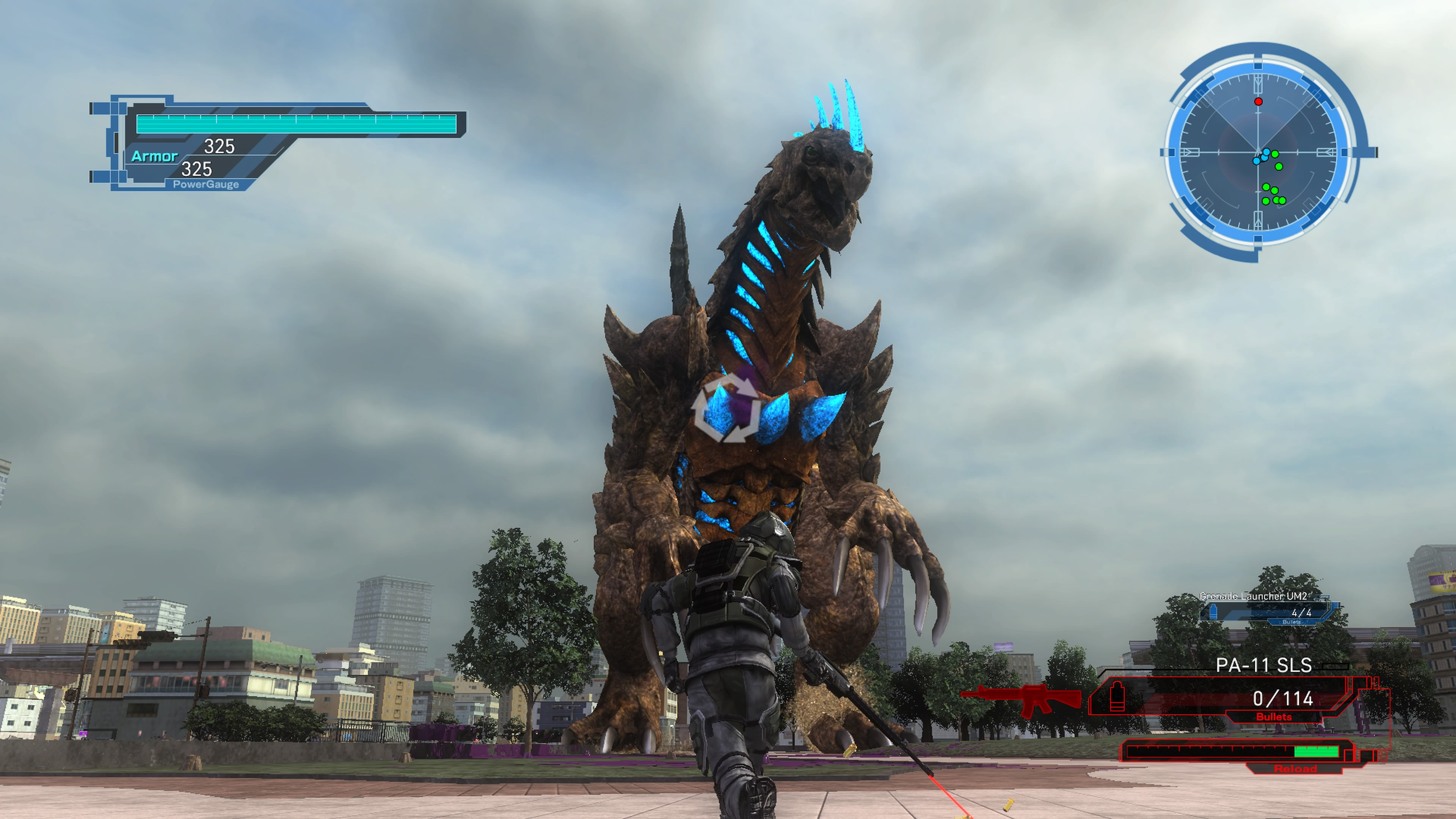 EarthDefenseForce5 PS4 Test 007