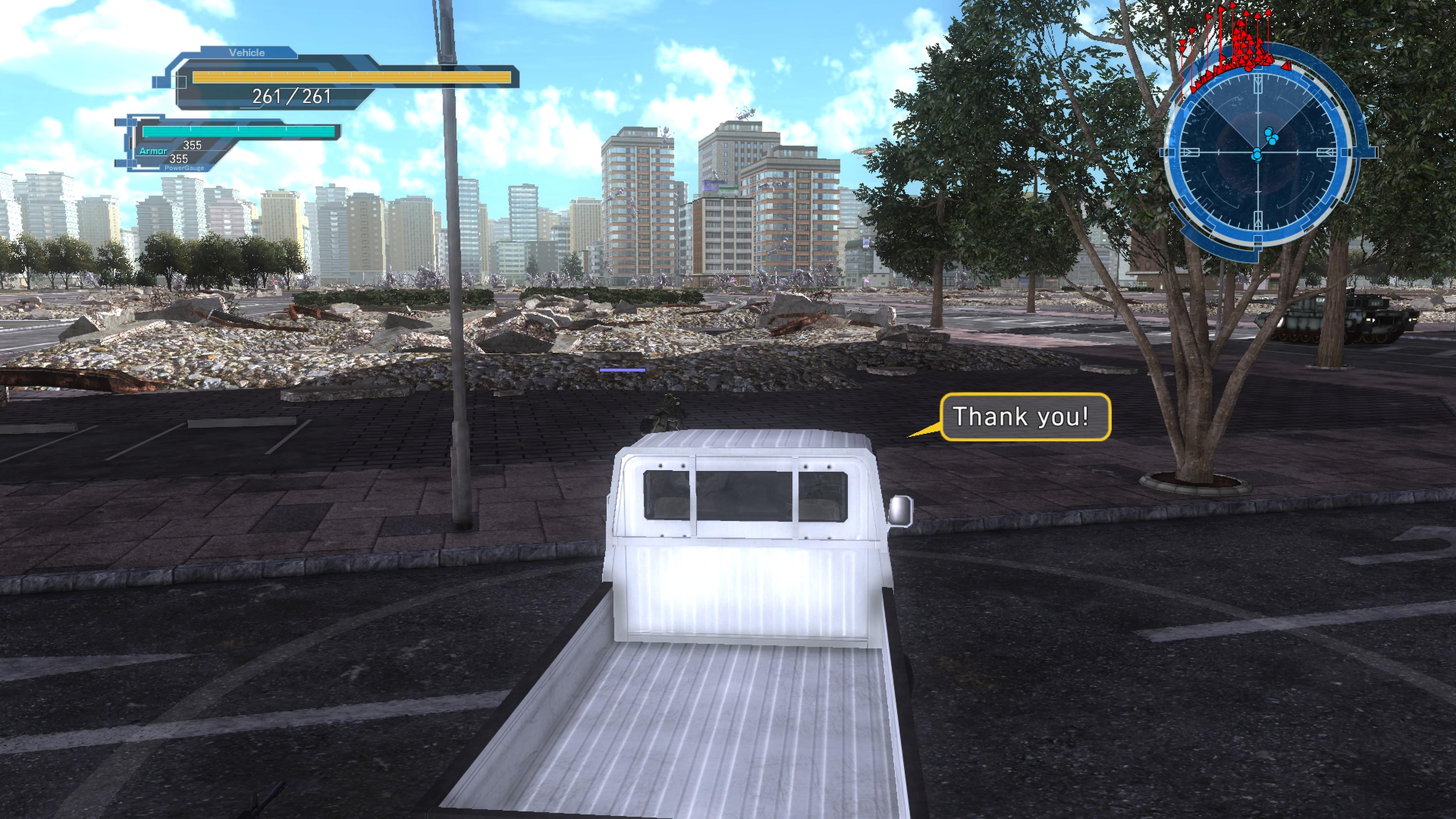 EarthDefenseForce5 PS4 Test 009