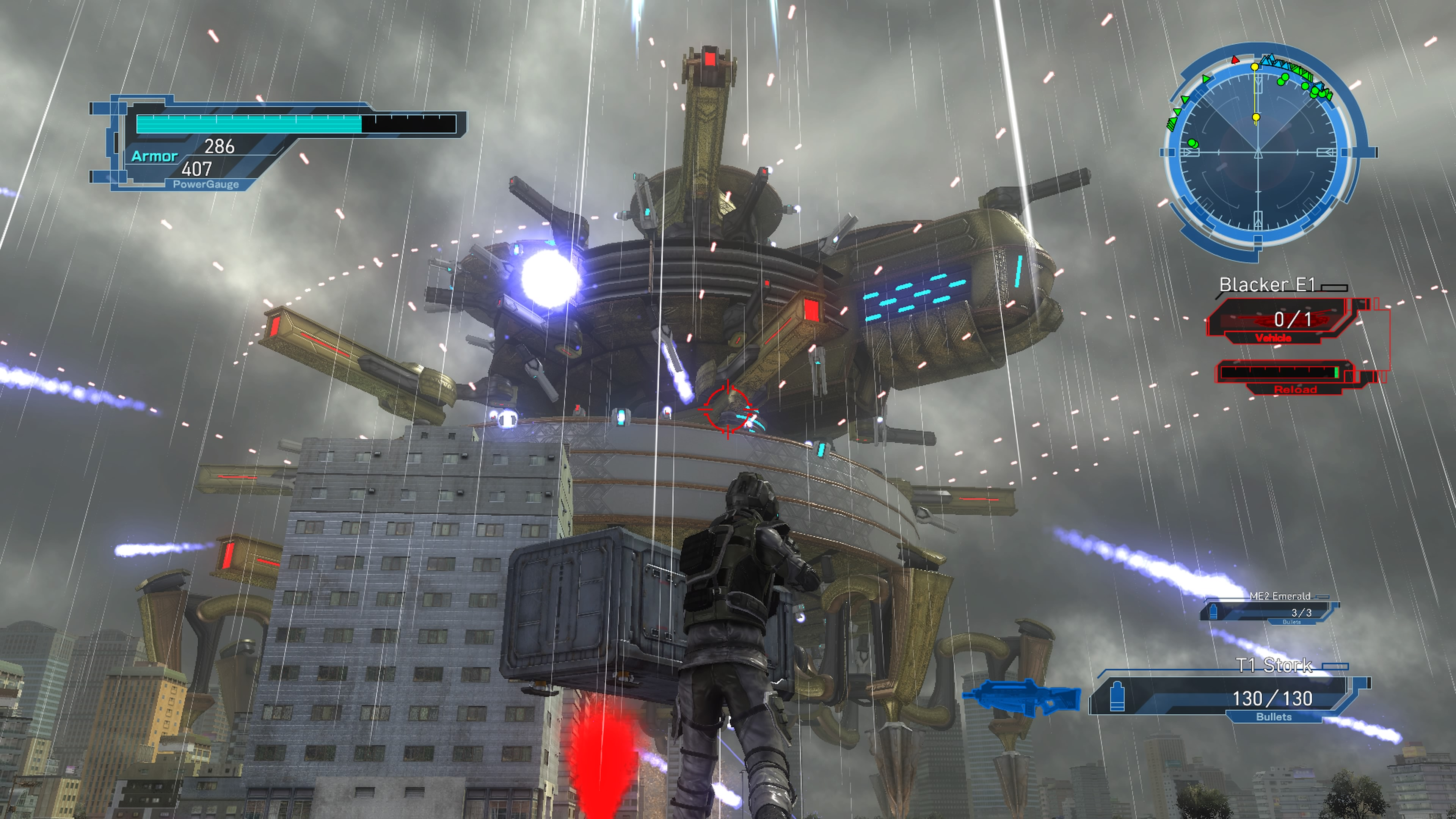 EarthDefenseForce5 PS4 Test 013