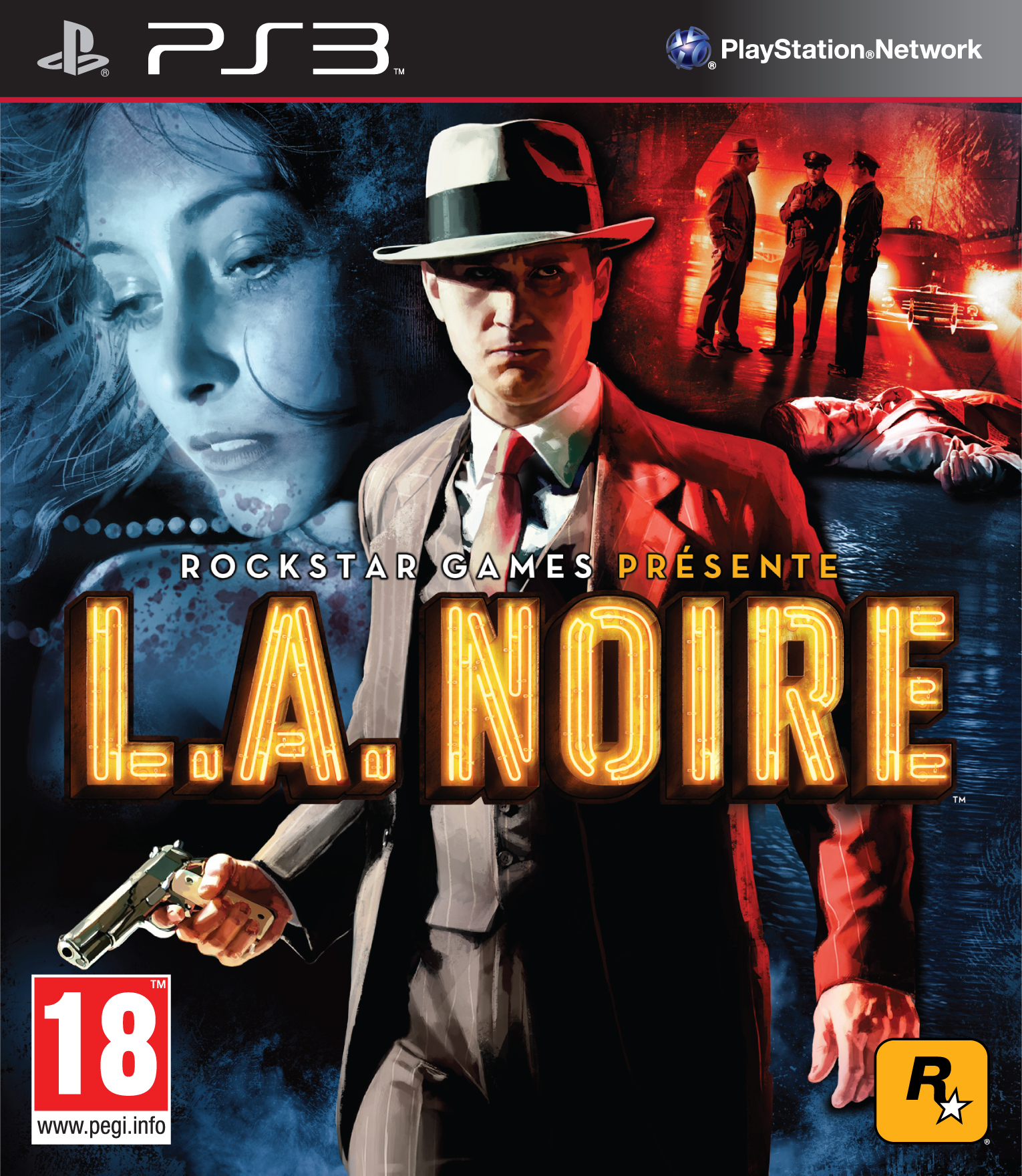 L.A.Noire PS3 Jaquette 004