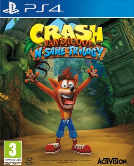 CrashBandicoot-NsaneTrilogy PS4 Jaquette 001