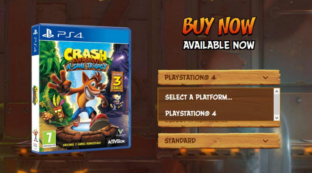 CrashBandicootN.SaneTrilogy PS4 Div 019