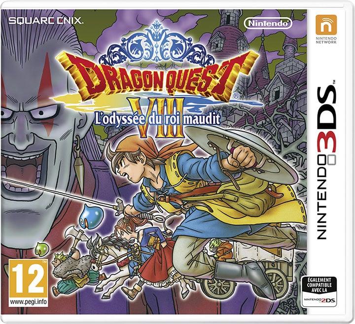 DragonQuestVIII-L-OdysseeduRoiMaudit 3DS Jaquette 001