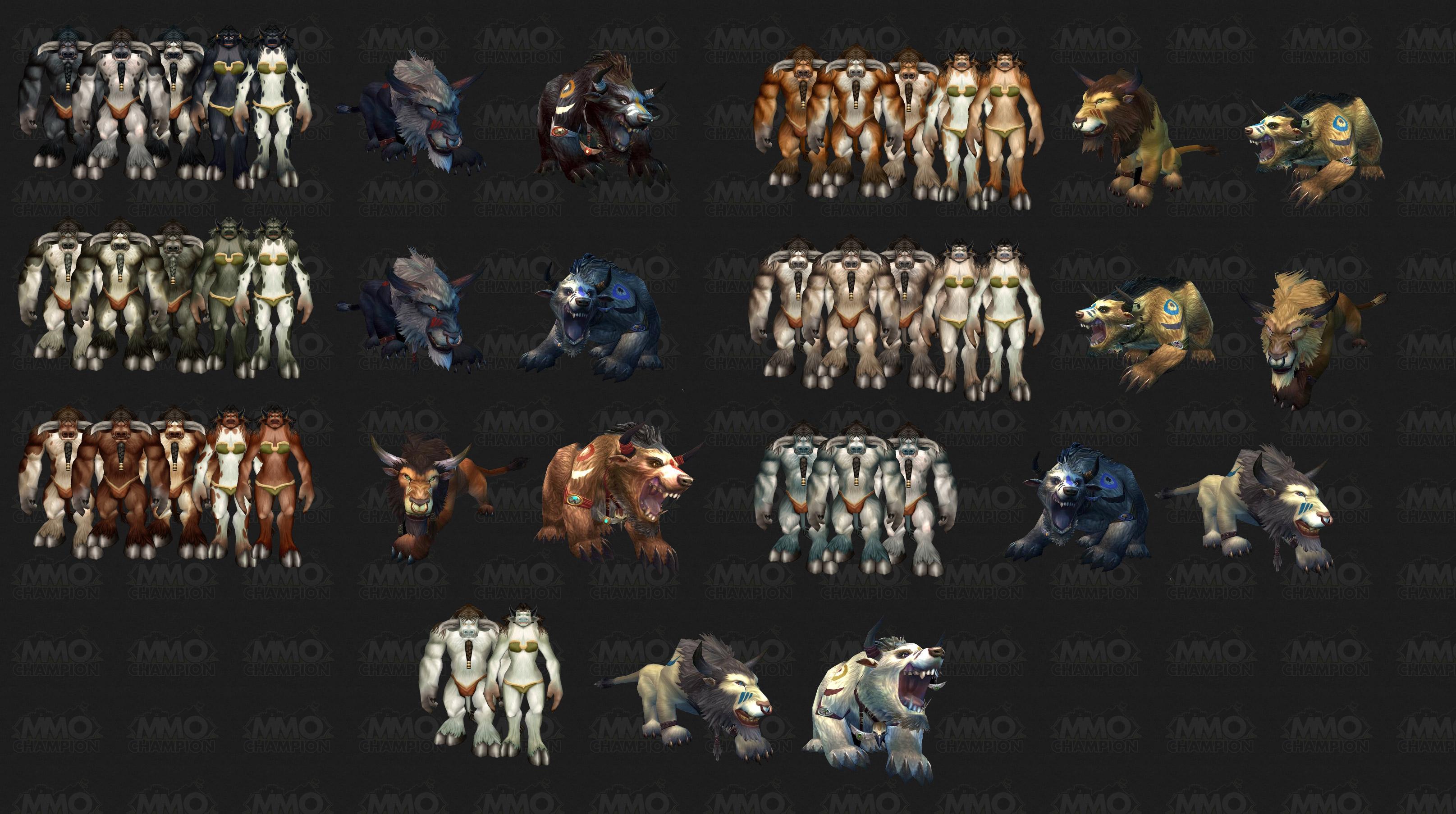 druidforms tauren
