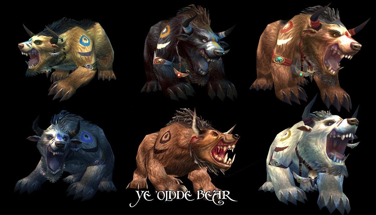 WoW Bears