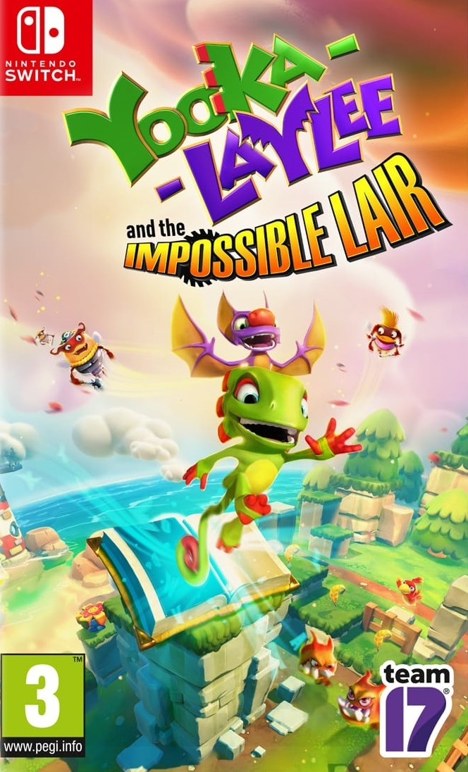 Yooka-Laylee Switch Jaquette 001