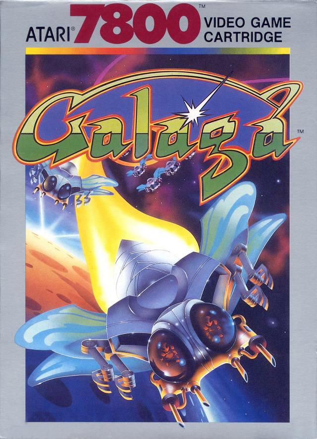 Galaga Atari7800 Jaquette001