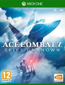 AceCombat7-SkiesUnknown XB1 Jaquette 001