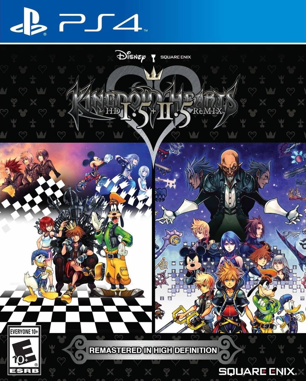 KingdomHeartsHDI.5-II.5ReMIX PS4 Jaquette 001