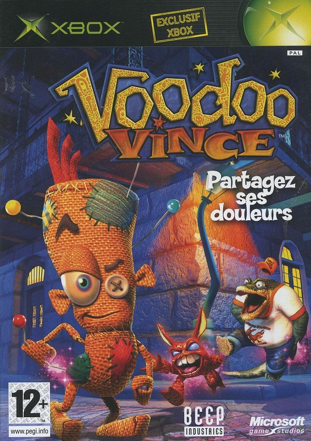 VoodooVince Xbox Jaquette 001