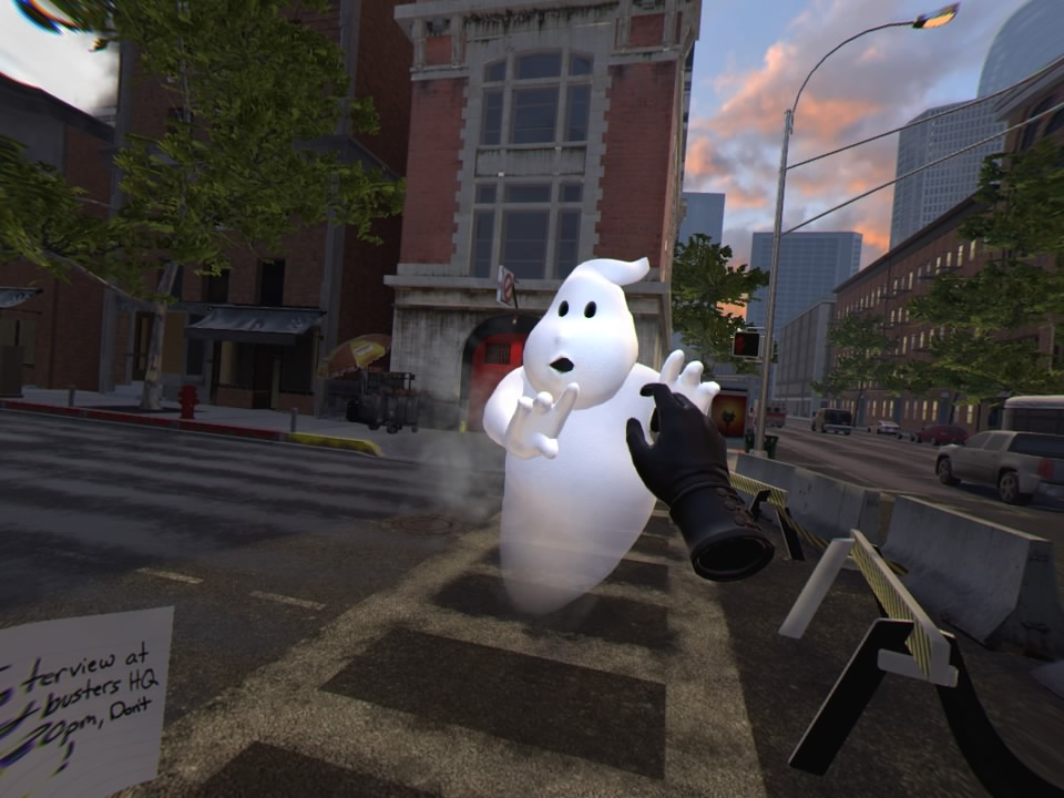 Ghostbusters-NowHiringVR PS VR Test 003