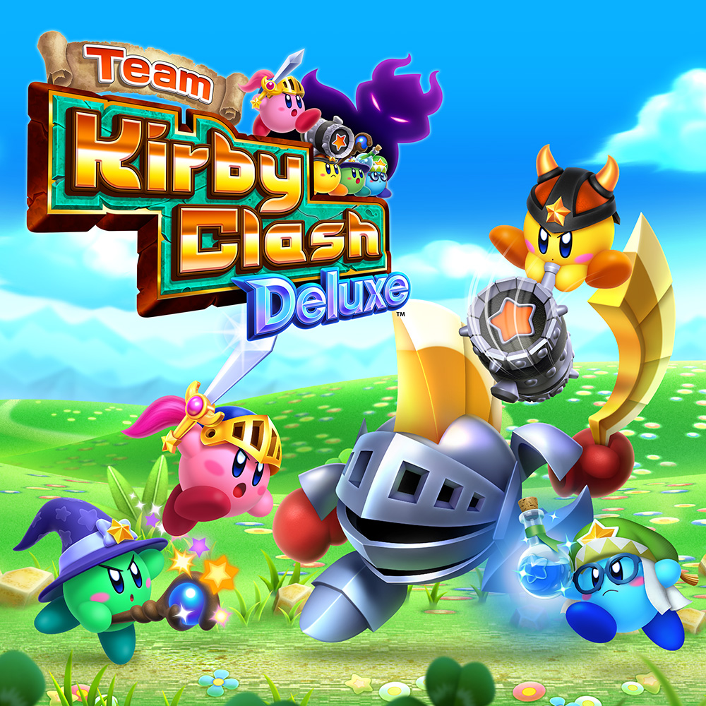 TeamKirbyClashDeluxe New 3DS Jaquette 001