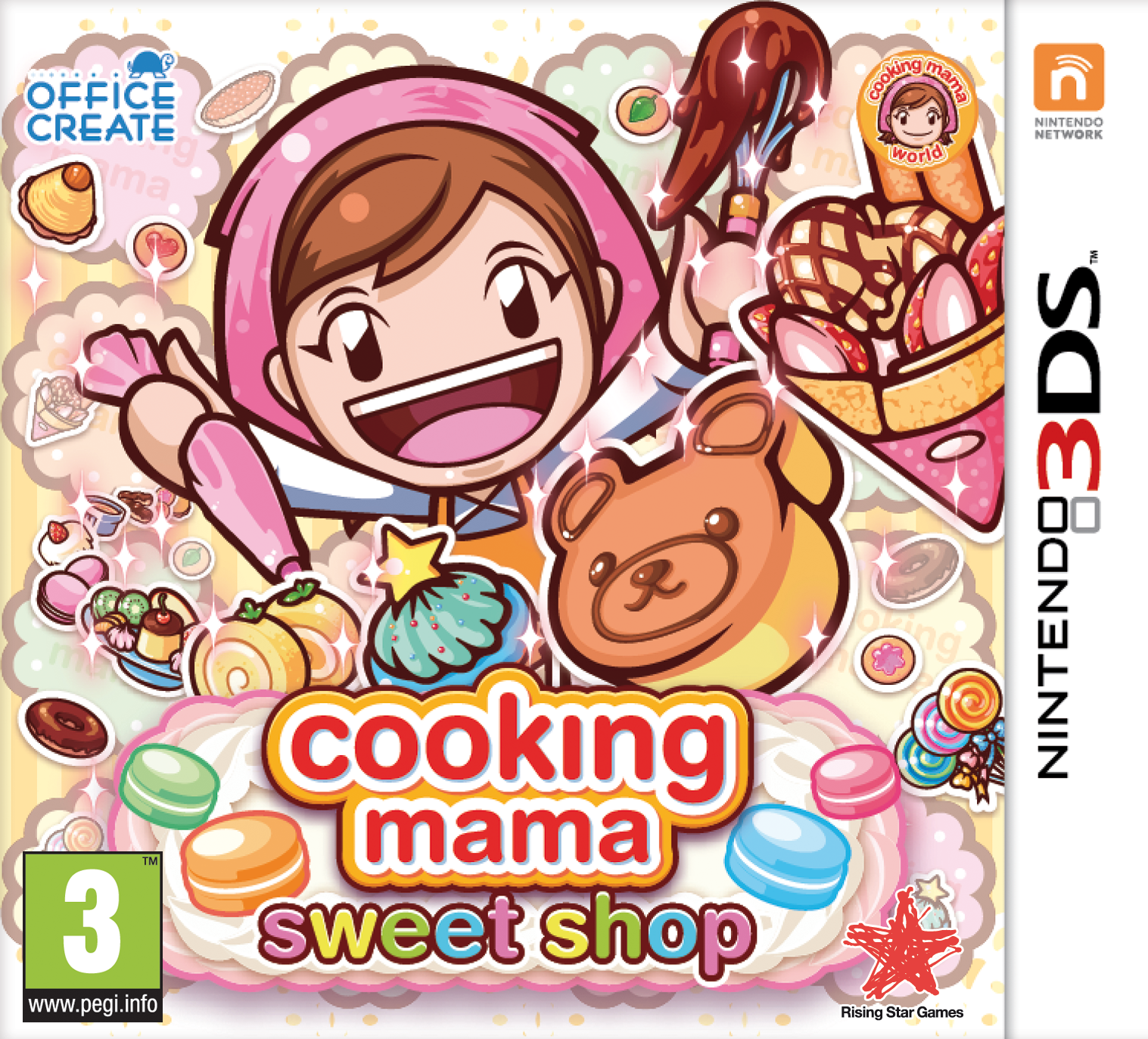 CookingMamaSweetShop 3DS Jaquette 001