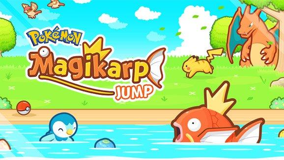 Pokémon Magicarpe Jump !