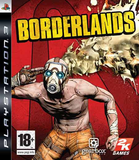 Borderlands PS3 jaquette004