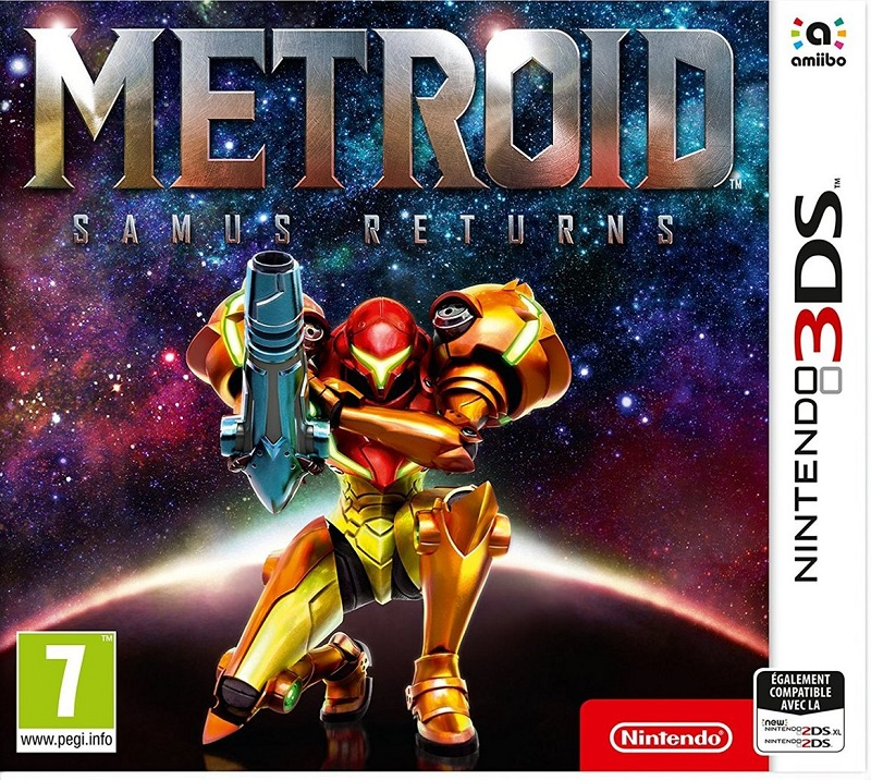 Metroid-SamusReturns 3DS Jaquette 001