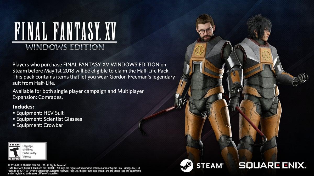 FinalFantasyXV PC Visuel 001