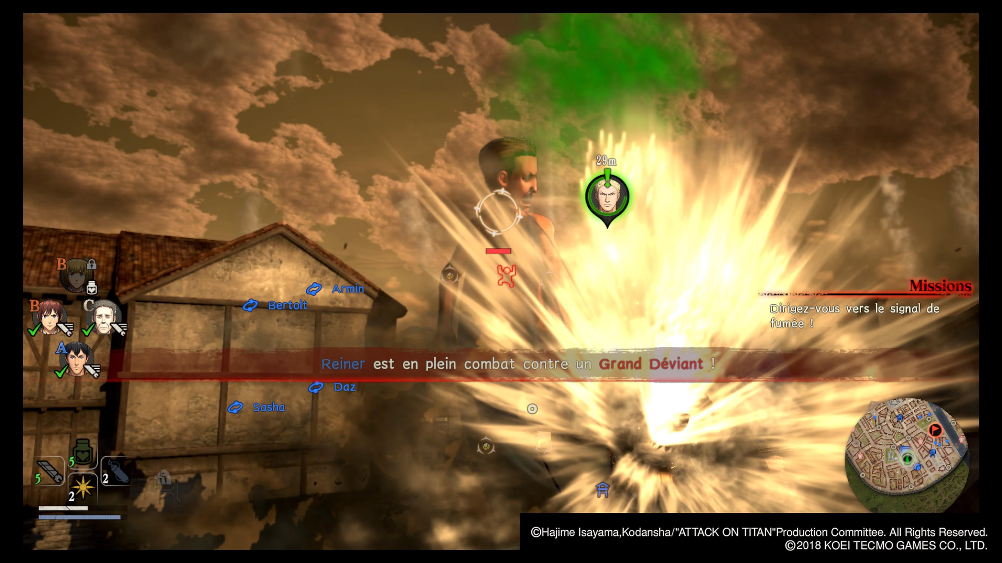 AttackonTitan2 Multi Test 010