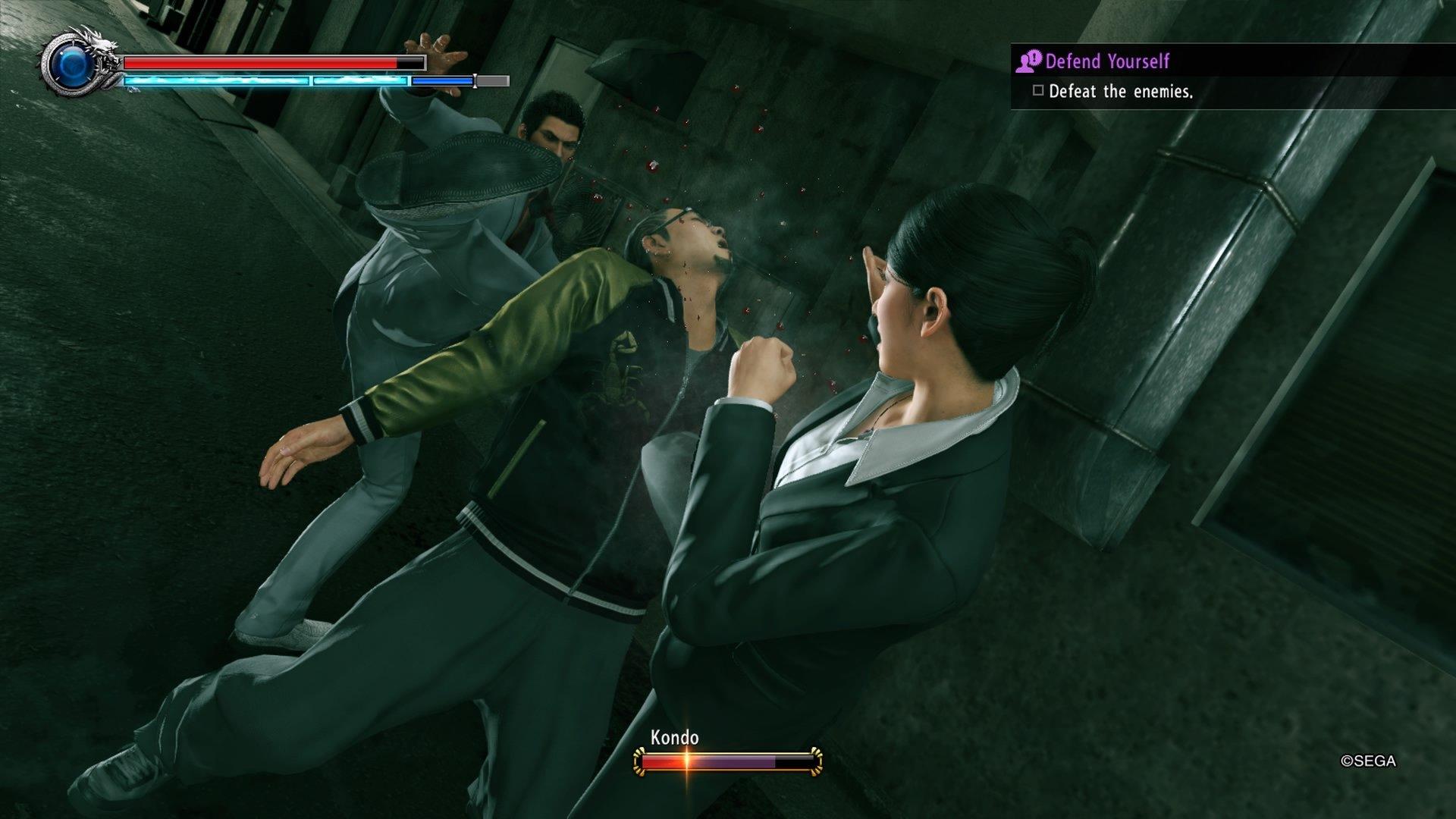 YakuzaKiwami2 PS4 Test 002