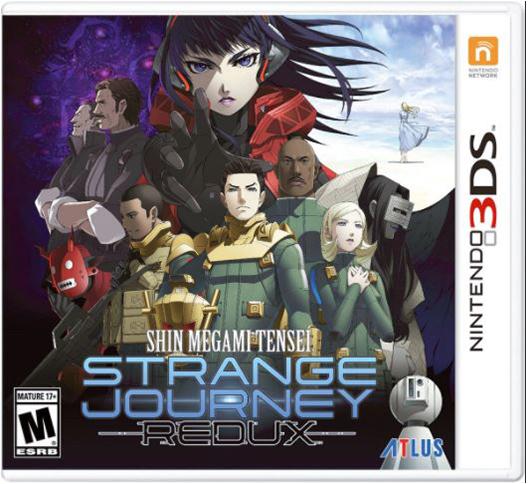 ShinMegamiTensei-StrangeJourneyRedux 3DS Jaquette 001