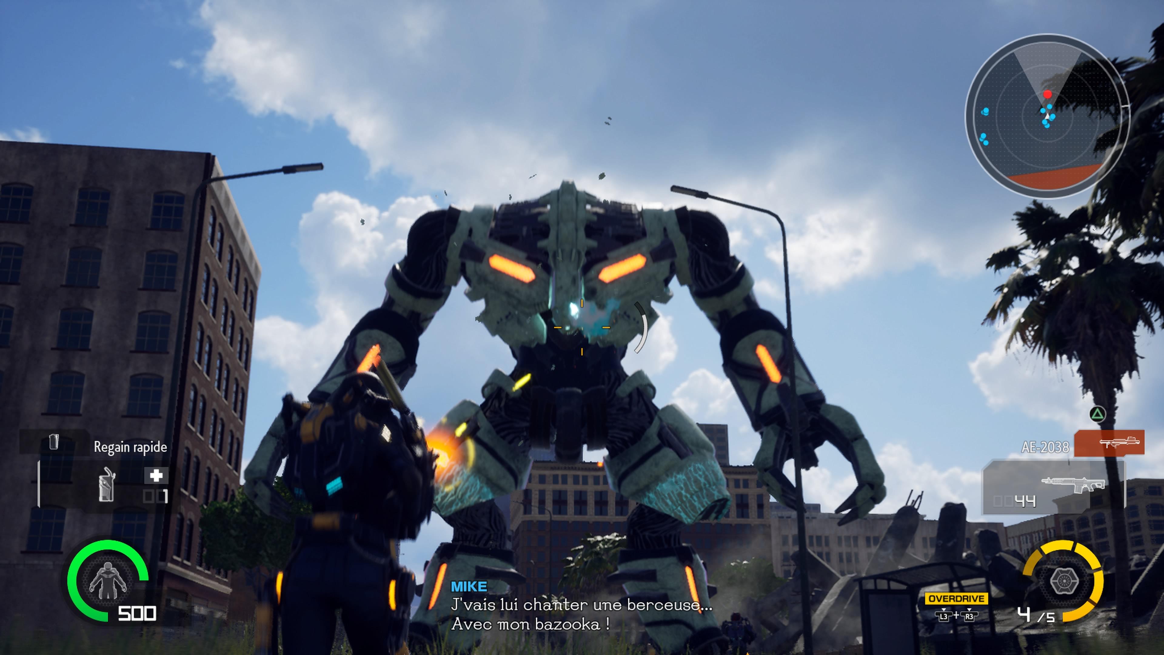 EarthDefenseForce-IronRain PS4 Test 004