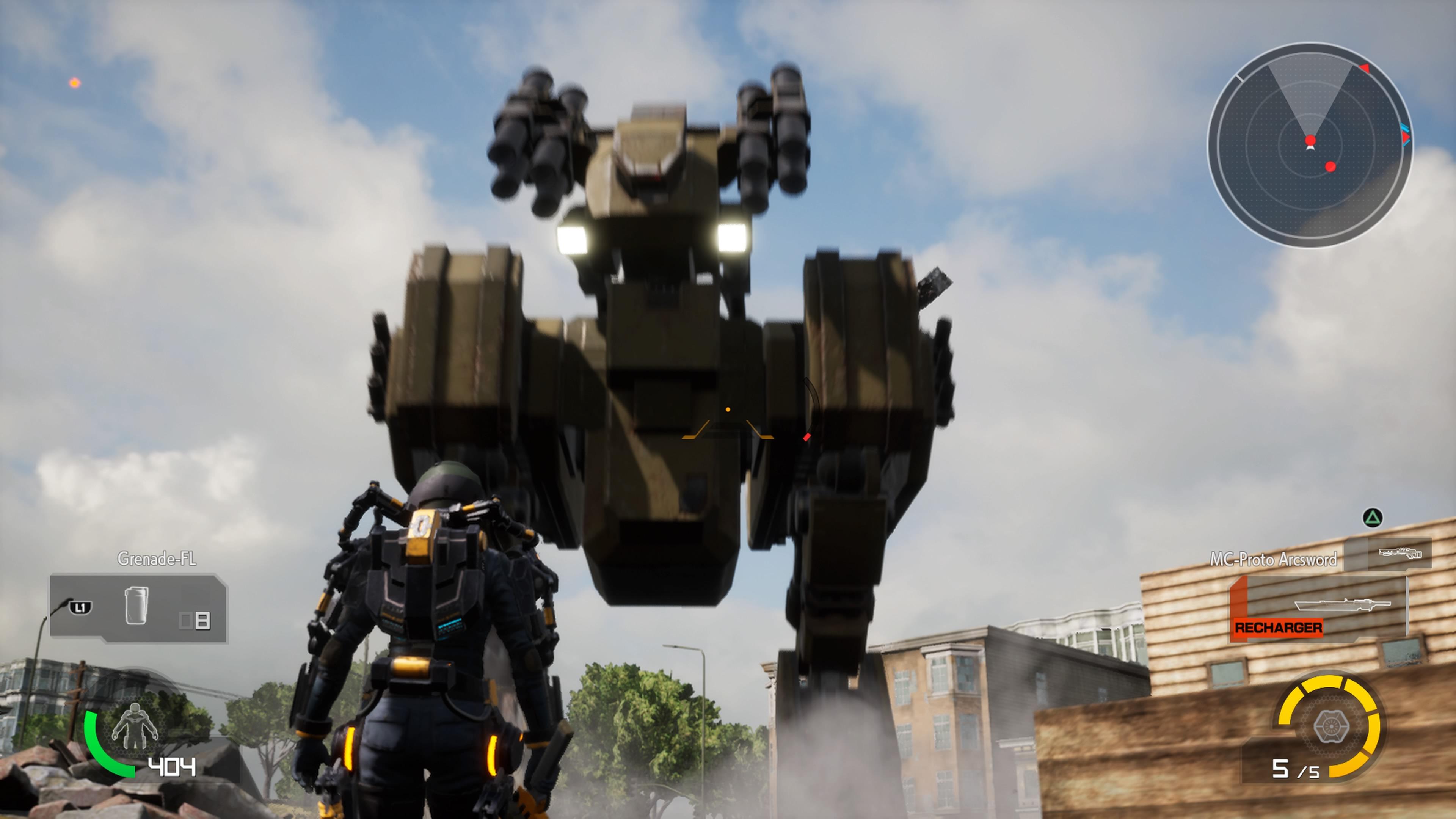 EarthDefenseForce-IronRain PS4 Test 013