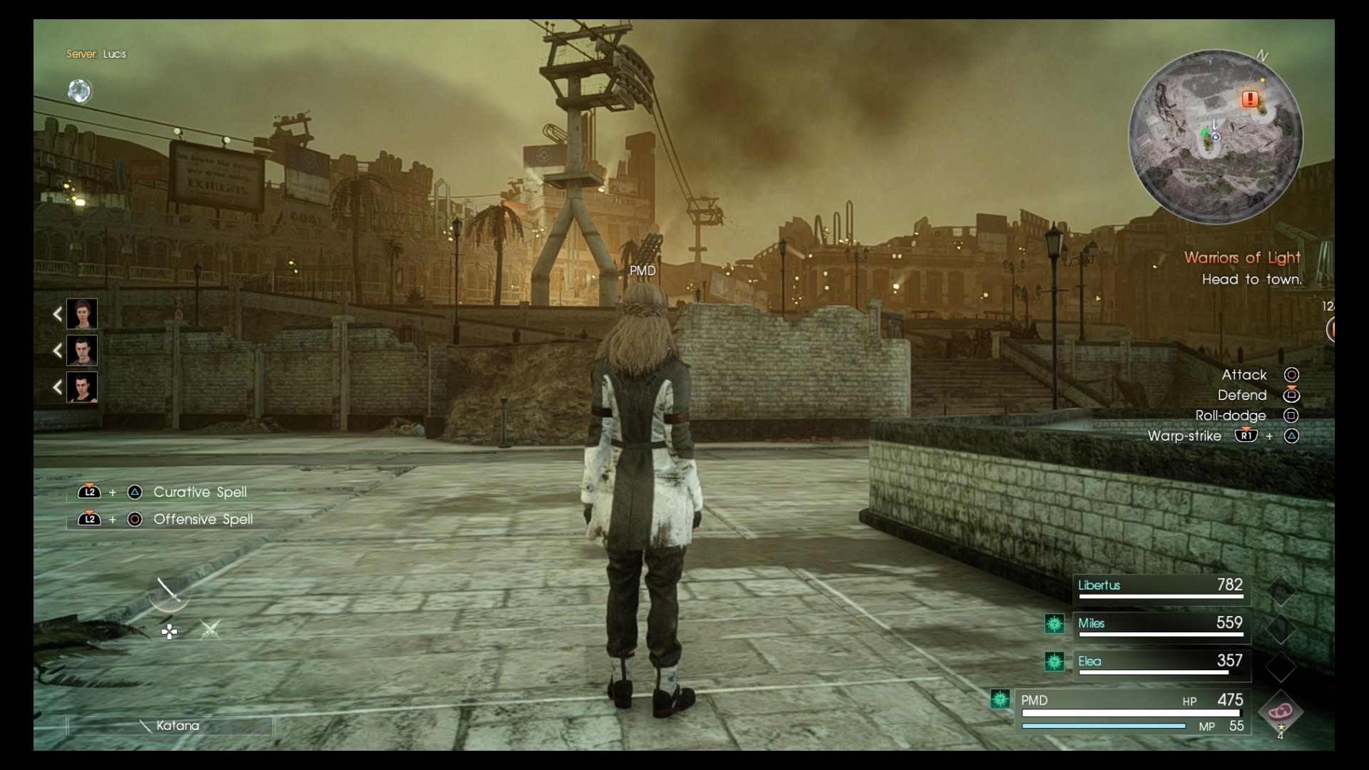 FinalFantasyXVComrades PS4 Test 007