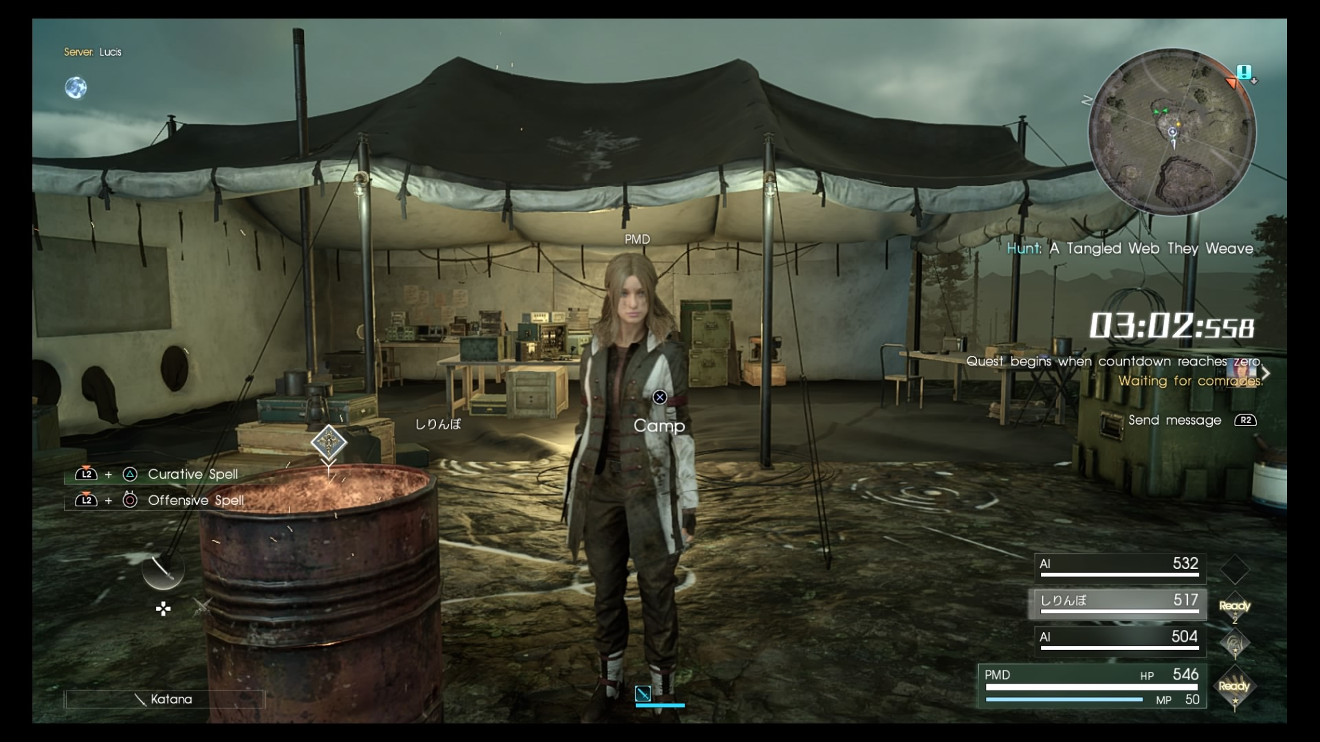 FinalFantasyXVComrades PS4 Test 024