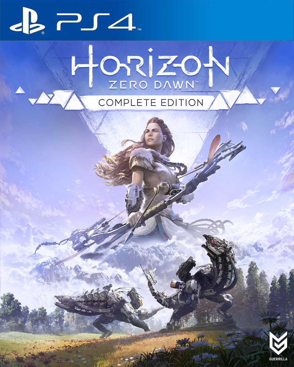 HorizonZeroDawnCompleteEdition PS4 Jaquette 001