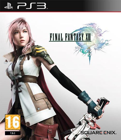 FinalFantasyXIII PS3 jaquette UE