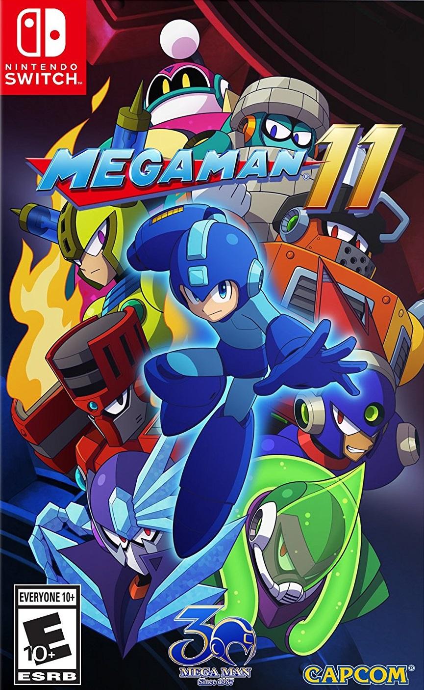 MegaMan11 Switch Jaquette 001