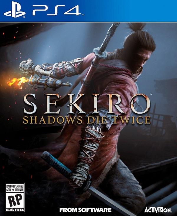 Sekiro-ShadowsDieTwice PS4 Jaquette 001