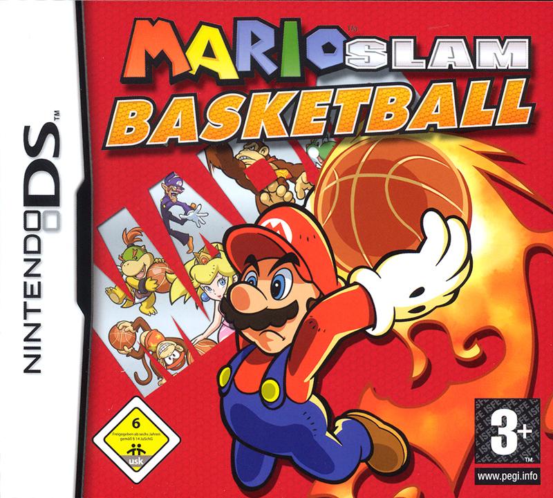 MarioSlamBasketball DS JaquetteFR