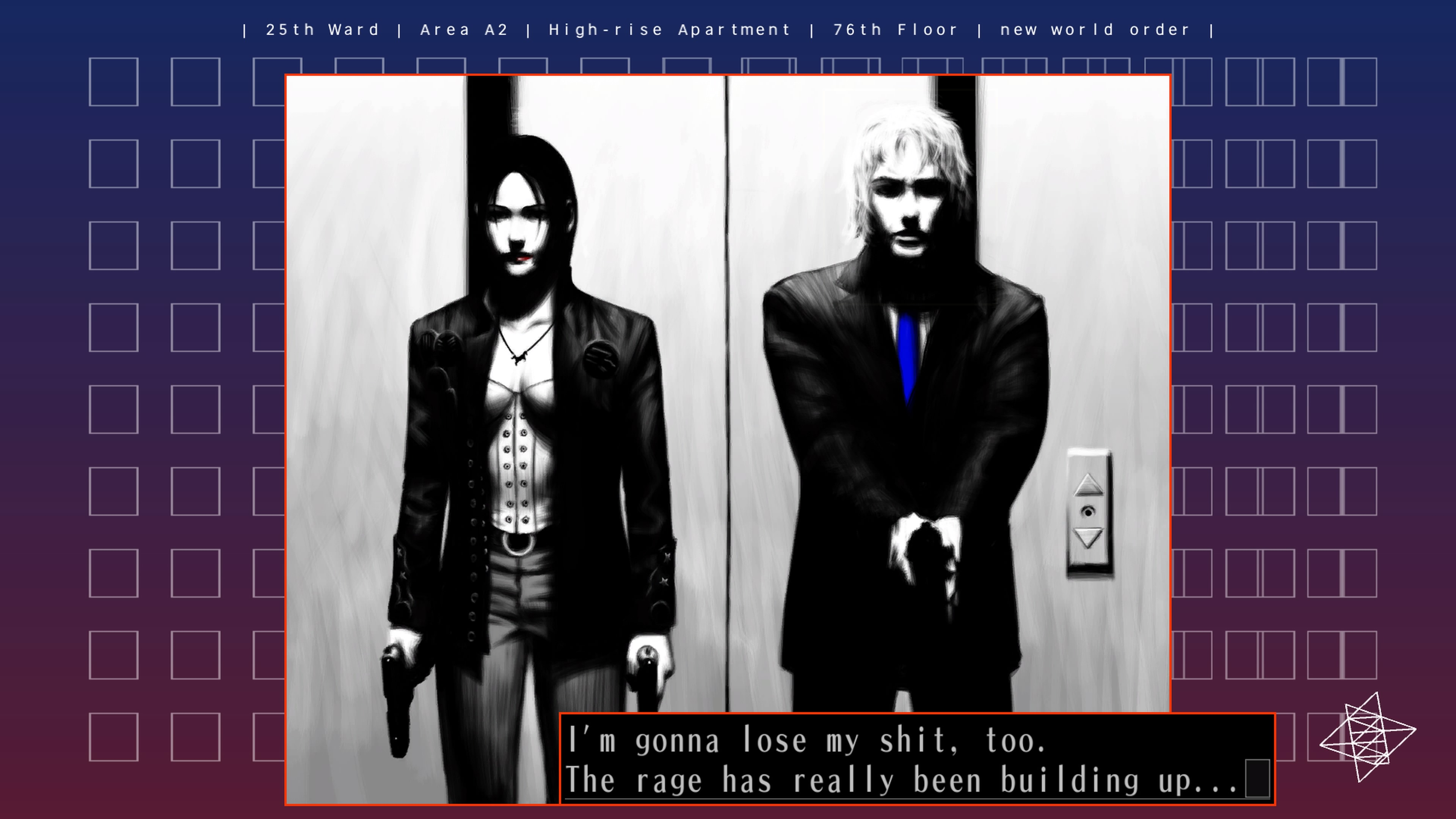 The25thWard-TheSilverCase PS4 Test 009