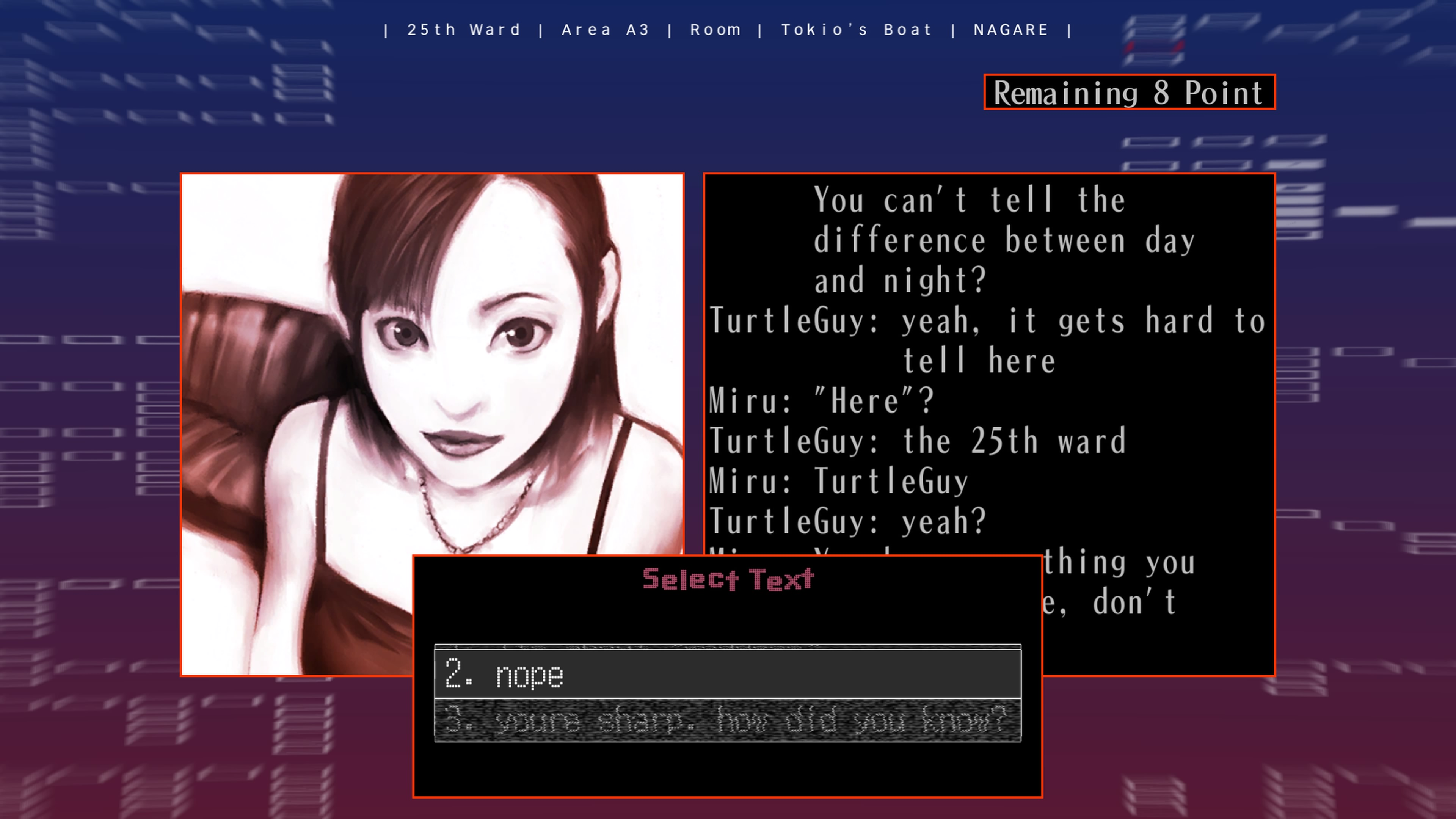 The25thWard-TheSilverCase PS4 Test 011