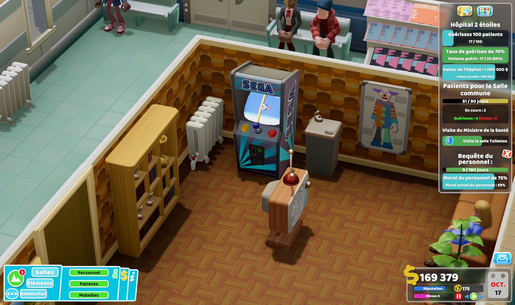 TwoPointHospital PC Test 125