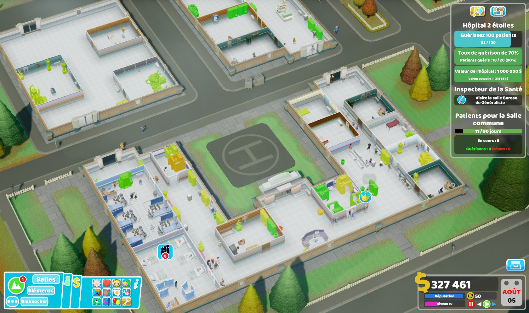 TwoPointHospital PC Test 127