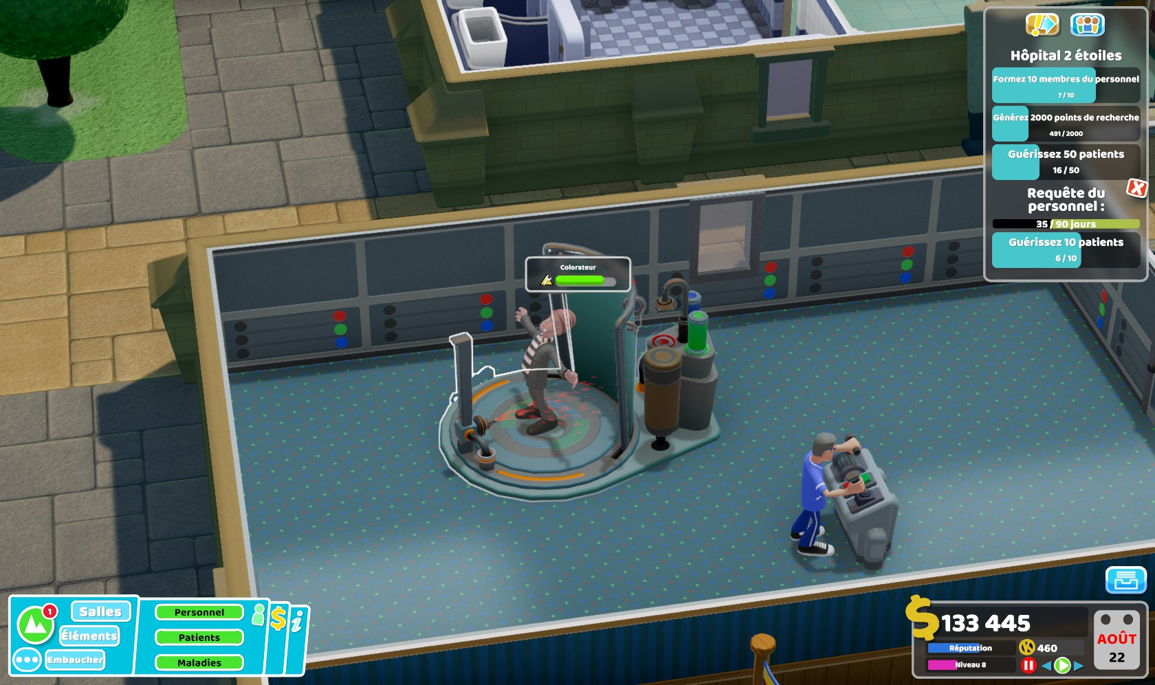 TwoPointHospital PC Test 129